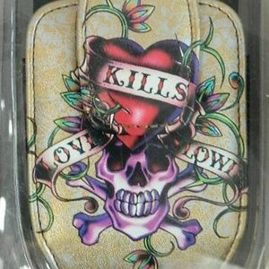 Ed Hardy Universal Cell Phone Case with Clip